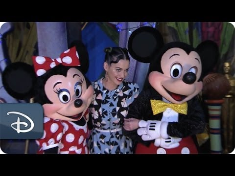 Katy Perry Visits Walt Disney World Resort | Disney Parks