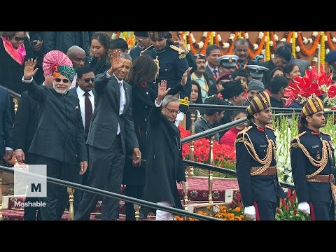 Obama attends India's Republic Day festivities | Mashable