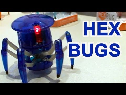 Hex Bugs 2011 Toy Fair Mini RC Robot Preview
