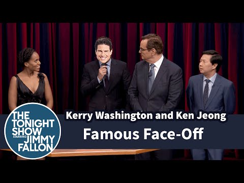 Famous Face-Off with Kerry Washington and Ken Jeong