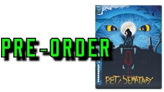 Pet Sematary (1989) Steelbook Pre-Order Information