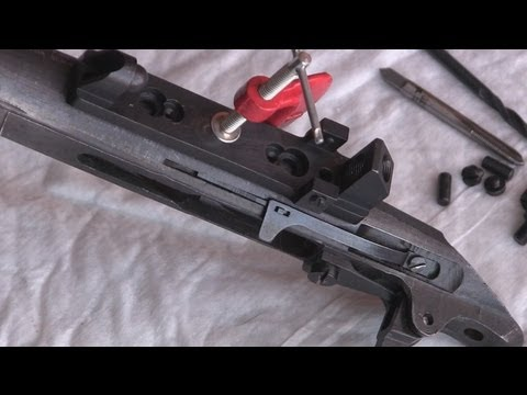 Mosin Nagant PU Scope Installation - Part 1 - Drilling and Tapping Receiver