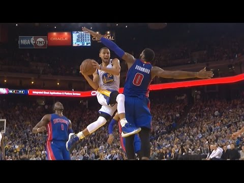Stephen Curry, Kevin Durant, Klay Thompson Combine for 72 Pts! Pistons vs Warriors