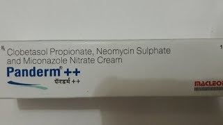 Panderm ++ cream | skin infection cream | uses | side effects | how to use | how it works | advises