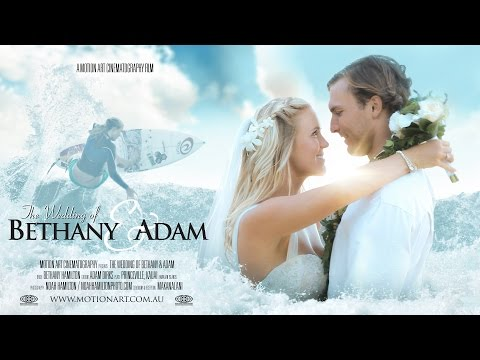 Bethany Hamilton & Adam Dirks | Fairytale Hawaii Wedding