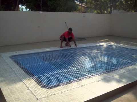 Proteção para ralo de piscina