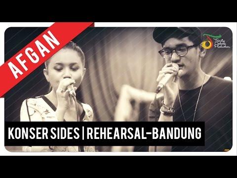 Rehearsal Konser Afgan SIDES Indonesian Tour 2016 - Bandung