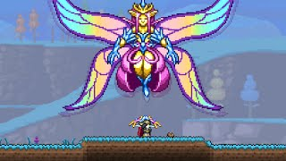 Terraria 1.4 added an Insta-Kill Boss Fight... Empress of Light in Daytime (Master Mode)