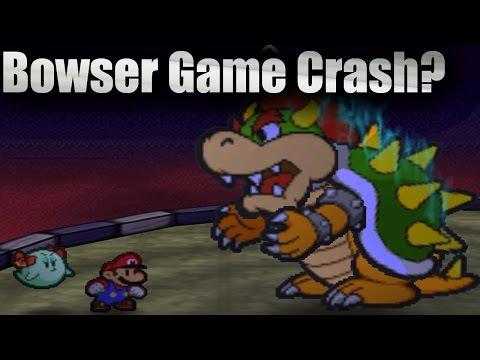Attempting to Beat Paper Mario Can Crash Paper Mario