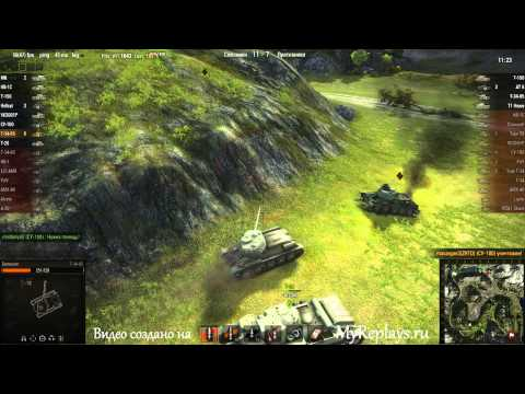 WOT: Перевал - Т-34-85 - 7 фрагов -