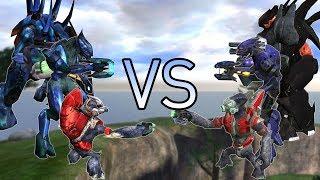 Halo CE AI Battle - Halo CE's Covenant vs SPV3's Covenant