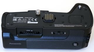 A Look At The  BGG1 Battery Grip For Panasonic's G80/85 Camera.