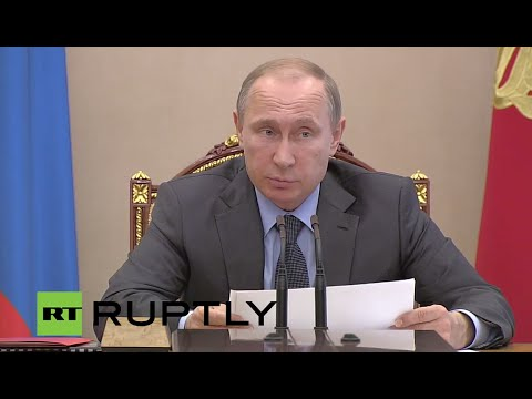 Russia: Putin addresses Council for Science and Education