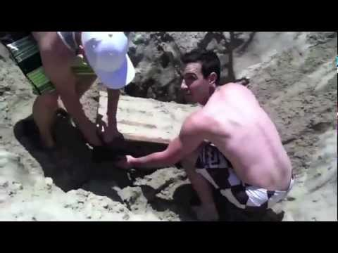 Fake Treasure Chest Prank Venice Beach