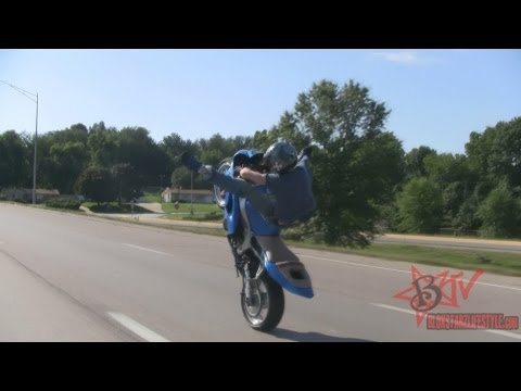 Longest Motorcycle Wheelie On Highway Combo Stunts Long Street Bike Wheelies Motorbike Tricks