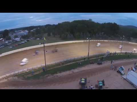 Selinsgrove PA Speedweek, Super Sportsman and 305 Sprint car Highlights 7-06-14