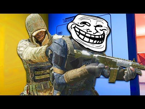 TROLLING CALL OF DUTYS BIGGEST CAMPER! (Call of Duty Funny Moments)