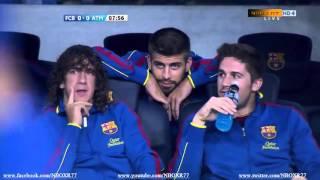 #من_الذاكرة مباراة برشلونة واتلتيكو مدريد 5-0 كاملة[24-09-2011] تعليق الشواليHD