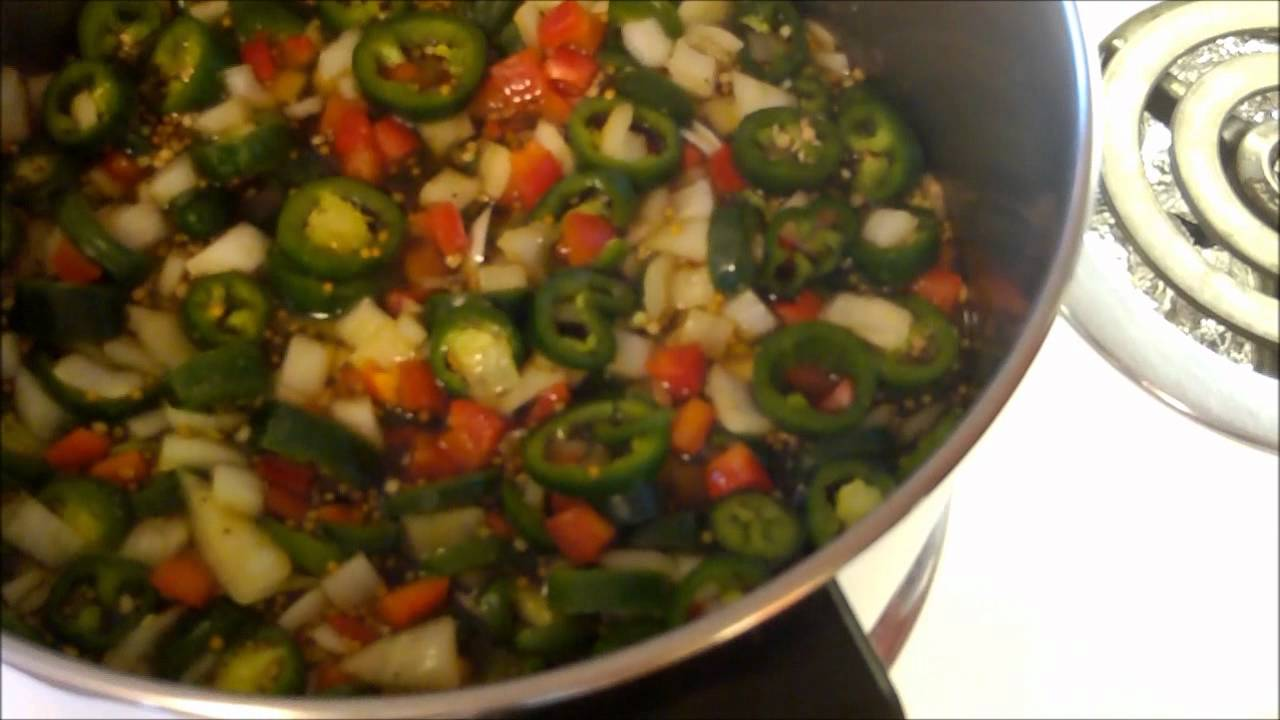 Making Bread and Butter Jalapeno Peppers.wmv - YouTube