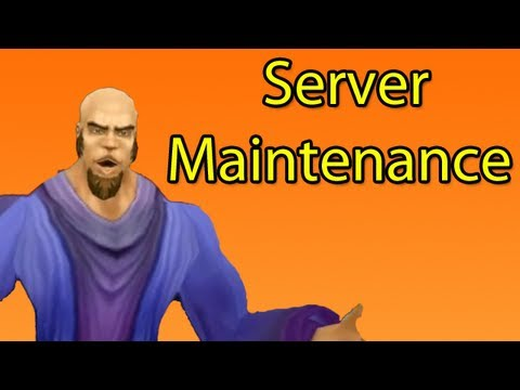 What Happens During Server Maintenance (WoW Machinima)