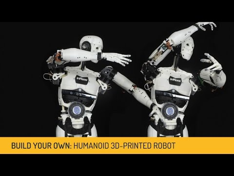 Inmoov the Open Source robot you can make with a 3D Printer