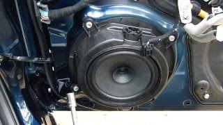 3rd Generation (2014-2017) Mazda 3 Door Panel Removal and Speaker Replacement