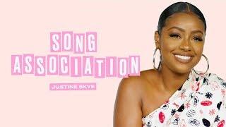 Justine Skye Sings JLo, Beyoncé, and John Legend in a Game of Song Association   ELLE