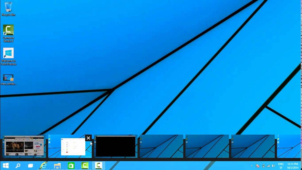 Bureau multiple windows 10 windows technical preview for Bureau windows 10