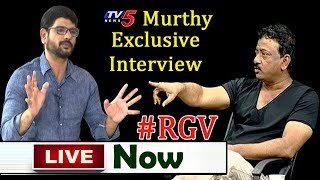 Murthy Exclusive Interview LIVE With RGV | #LaksmisNTR | TV5