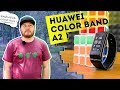 Смарт браслет Huawei Color Band A2 AW61 обзор mp3