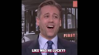 Max Kellerman says luck had a big role in Tom Brady's win against the Chiefs.