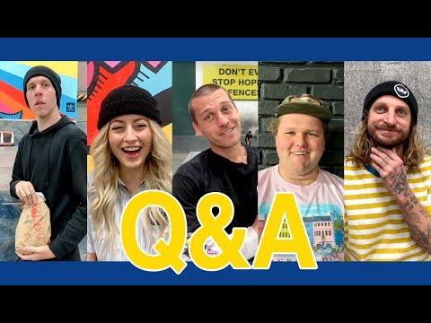 Q&A Compilation with Donovan Strain, SkateMosss, David Reyes, Lizard King, & Bo Mitchell
