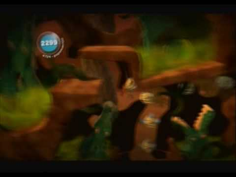 Little Big Planet (PS3) Gameplay Part 6 (The Savannah - Burning Forest)