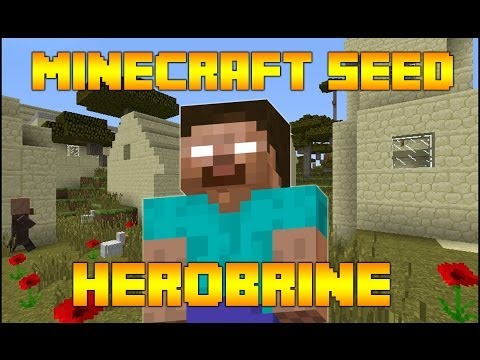 Minecraft Seeds HEROBRINE Desert Village in Savannah 1.7.9 Minecraft Seed