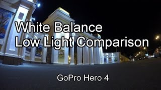 GoPro 4 White Balance Video Low Light Comparison. Test With Settings & How To GoPro - ViYoutube.com azcodes.com