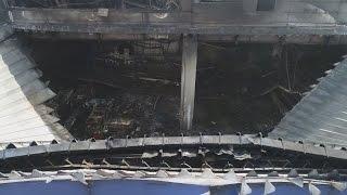 アスクル倉庫火災ほぼ消火