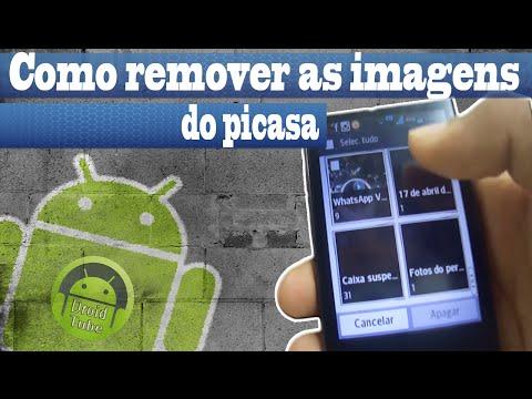 Como remover as imagens do Picasa em seu Android
