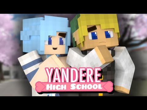Yandere High School - LUNCH DATE?! (Minecraft Roleplay) Ep. 28