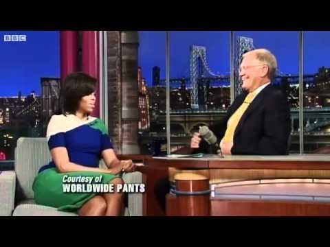 Michelle Obama on Letterman: This isn't Oprah