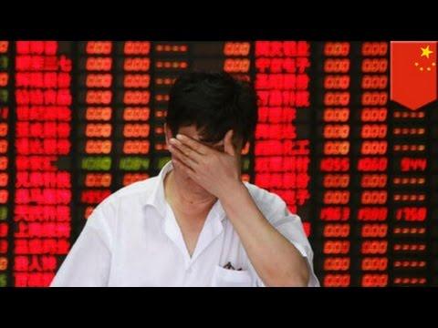 China stock market crash: Chinese investors panic over market bubble - TomoNews