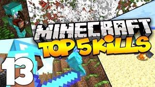 Top 5 Minecraft Kills - Skywars Kills, MCSG Kills, & MORE! (Episode 13)