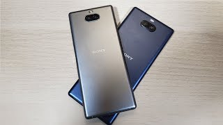 Xperia 10 & Xperia 10 Plus Hands-on : 21:9 has Some Perks!
