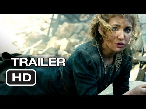 The Book Thief TRAILER 1 (2013) - Geoffrey Rush. Emily Watson Movie HD