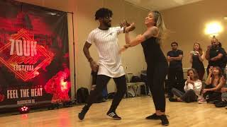 2019/04/14 Walter/Hannah Zouk Demo @Zouk Heat (Advanced Rotisserie Turns Workshop)