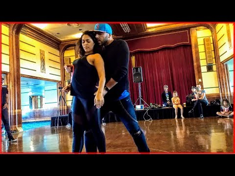 Ivo Vieira & Nathália Moura - Zouk Dance at the 2017 Los Angeles Zouk Congress