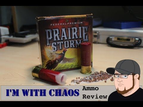 Federal Prairie Storm 12 Gauge Ammo Review!