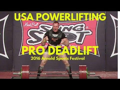 Pro Deadlift at 2016 Arnold Sports Festival