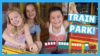 Kids Having Fun at the Railroad Park !!! 🚂