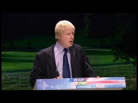 Tory Party conference: Boris Johnson