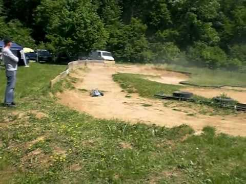 23 Mai 2010 RC-Car Truggy Buggy D8T Losi Verbrenner Brushless